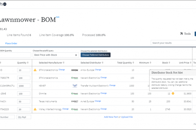 How oemsecrets.com BOM tool is changing the electronic components online market for the Better